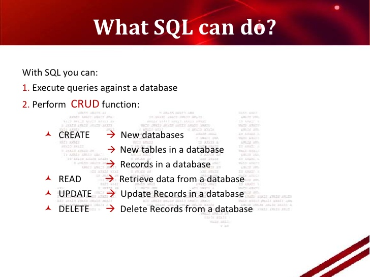 Beginning your Data Science Journey - SQL