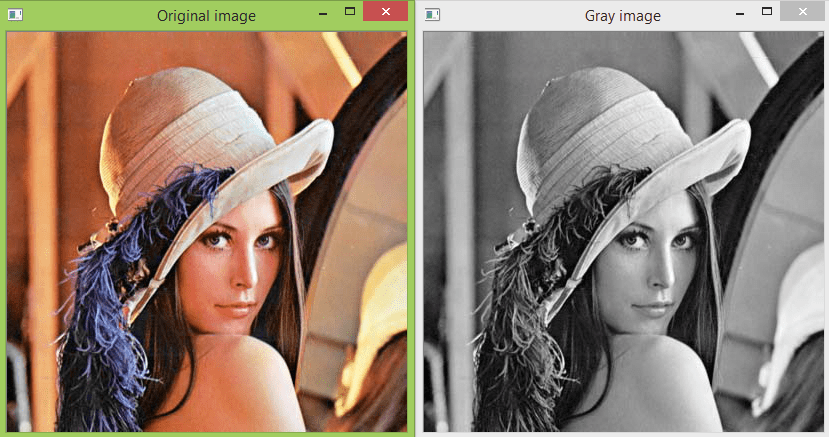 changing colorspace   opencv