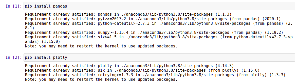 ISS Detector Python pandas and plotly